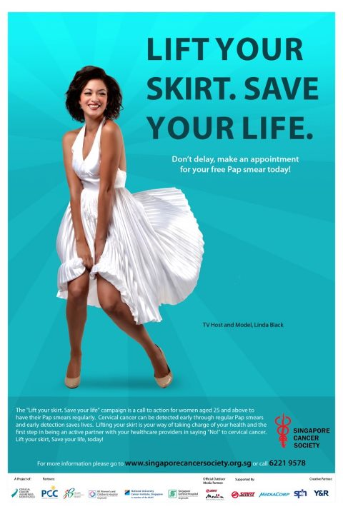 """Cervical Cancer Ad labelled """"sexist"""" and """"tacky"""""""